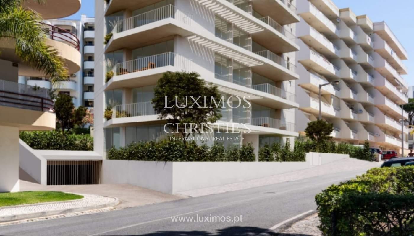 3 bedroom apartment with sea view, closed condominium, Vilamoura, Algarve_170064