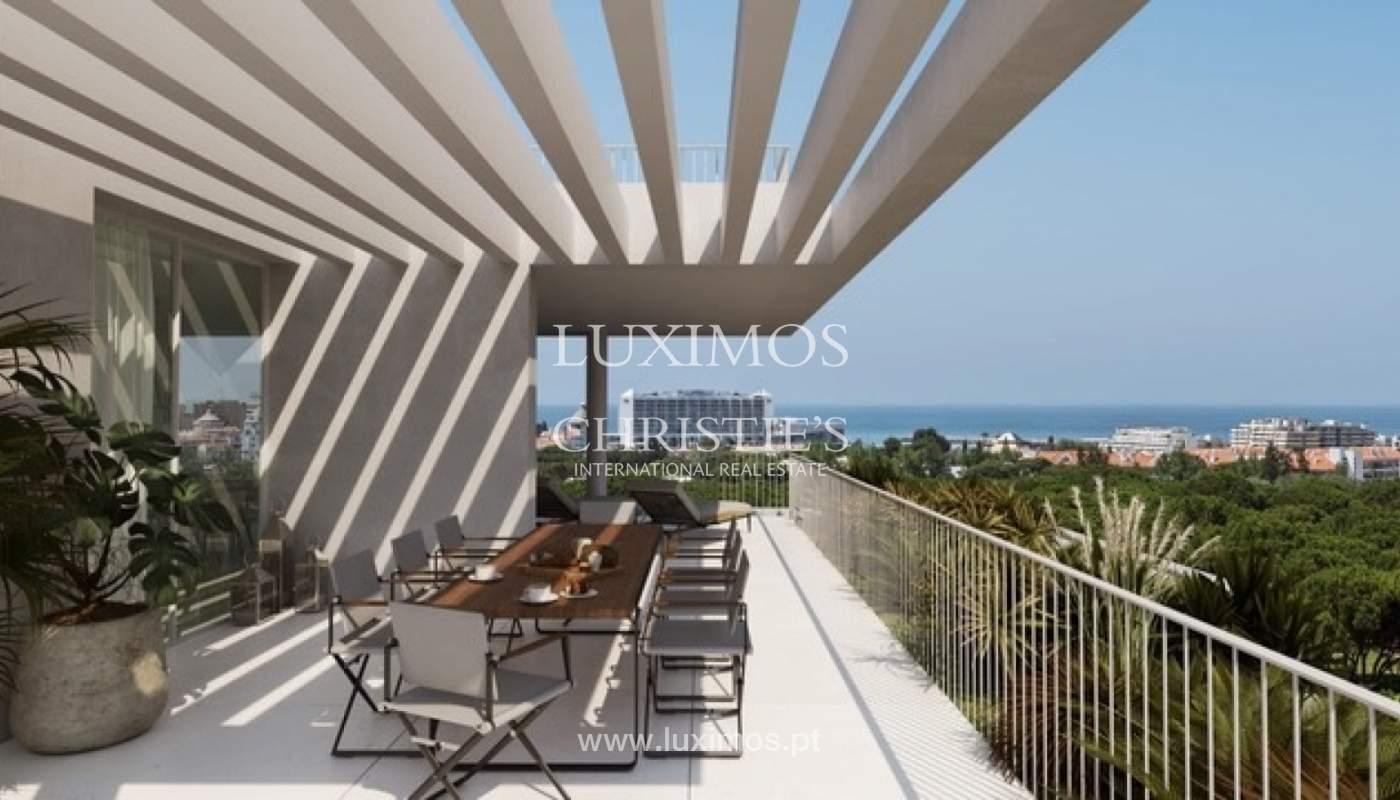 3 bedroom apartment with sea view, closed condominium, Vilamoura, Algarve_170065