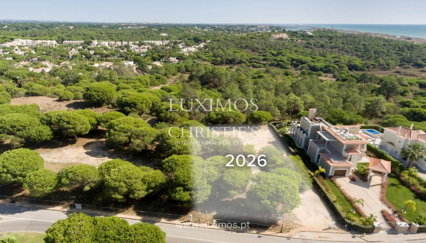 Plot of land with sea view, Vale do Lobo, Algarve_170341