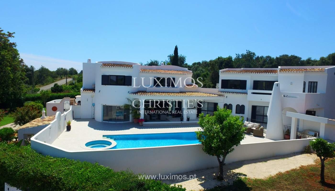Moradia V4+1, com piscina e vista para a serra, Portimão, Algarve_171772