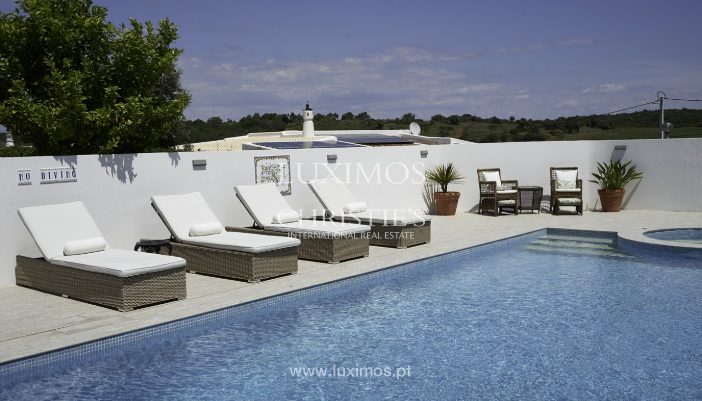 Moradia V4+1, com piscina e vista para a serra, Portimão, Algarve_171802