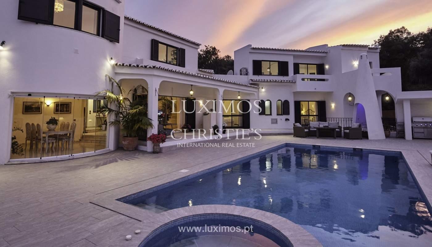 Moradia V4+1, com piscina e vista para a serra, Portimão, Algarve_171813