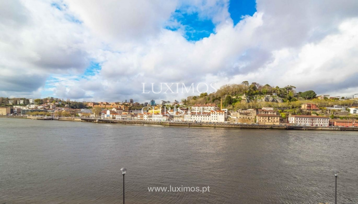 Apartamento dúplex en 1ª línea de río, en venta, en Vila Nova de Gaia, Portugal_173597