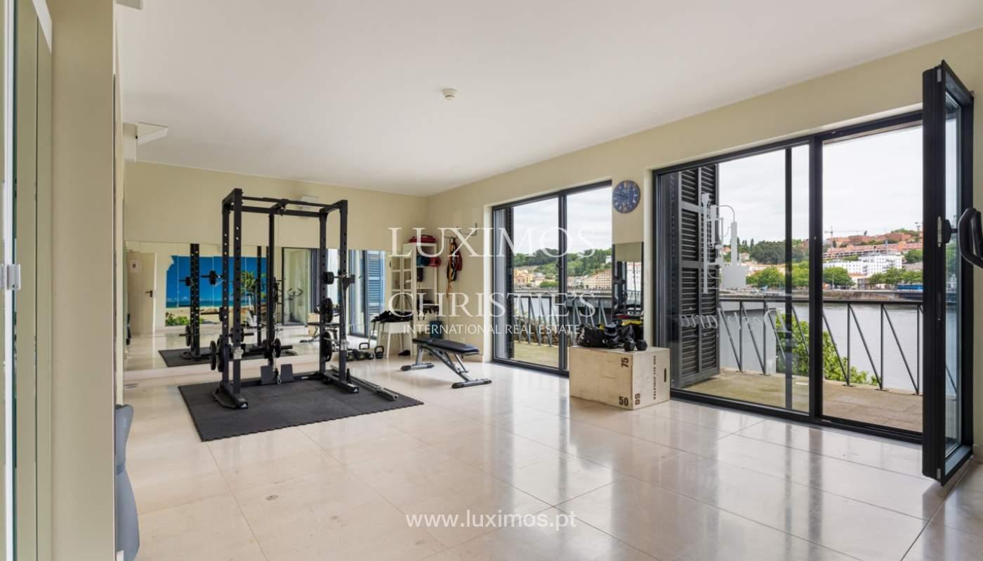 Apartamento dúplex en 1ª línea de río, en venta, en Vila Nova de Gaia, Portugal_173601