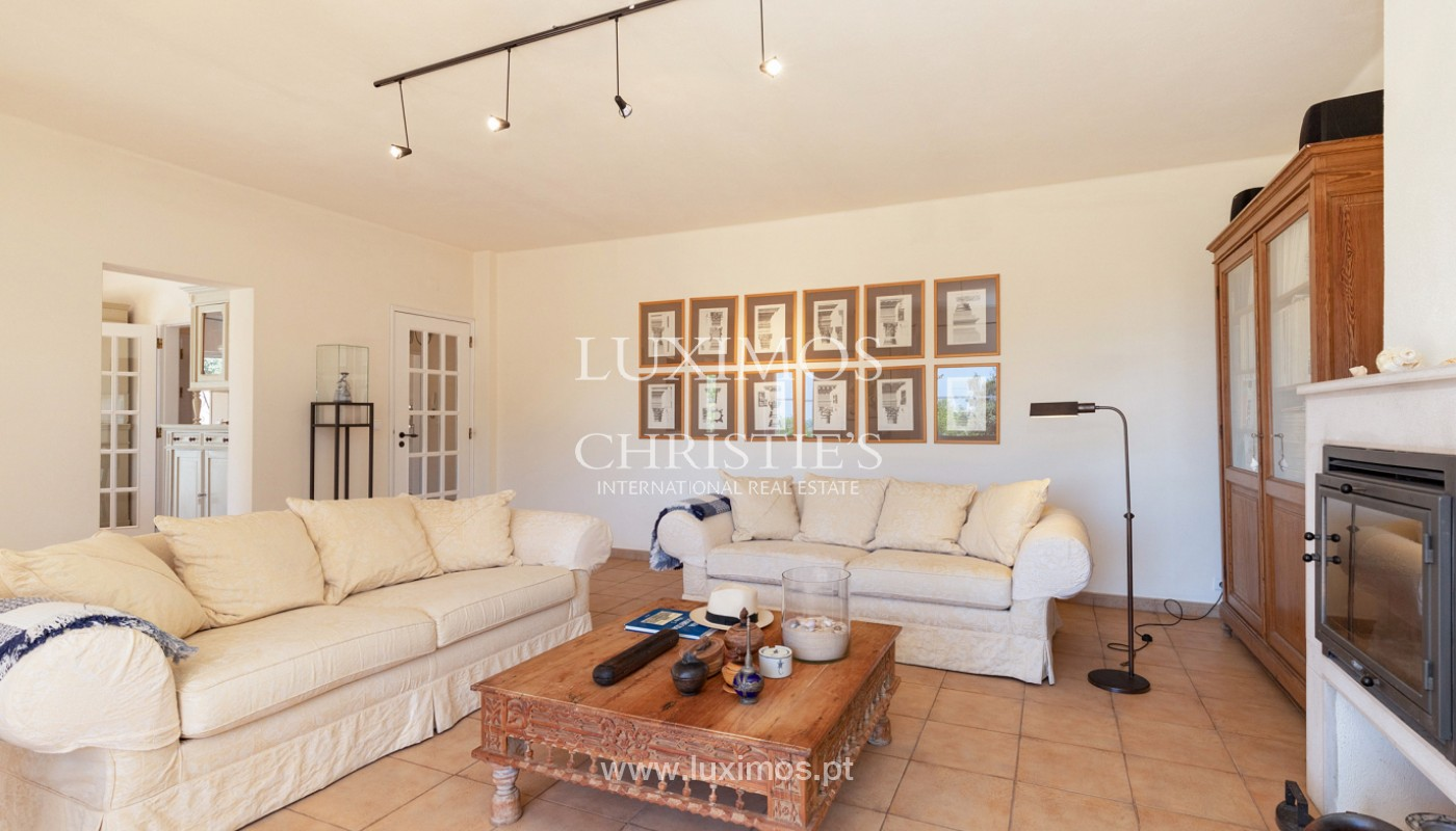 Villa de 4 dormitorios con vistas al mar, Santa Barbara de Nexe, Algarve_173723