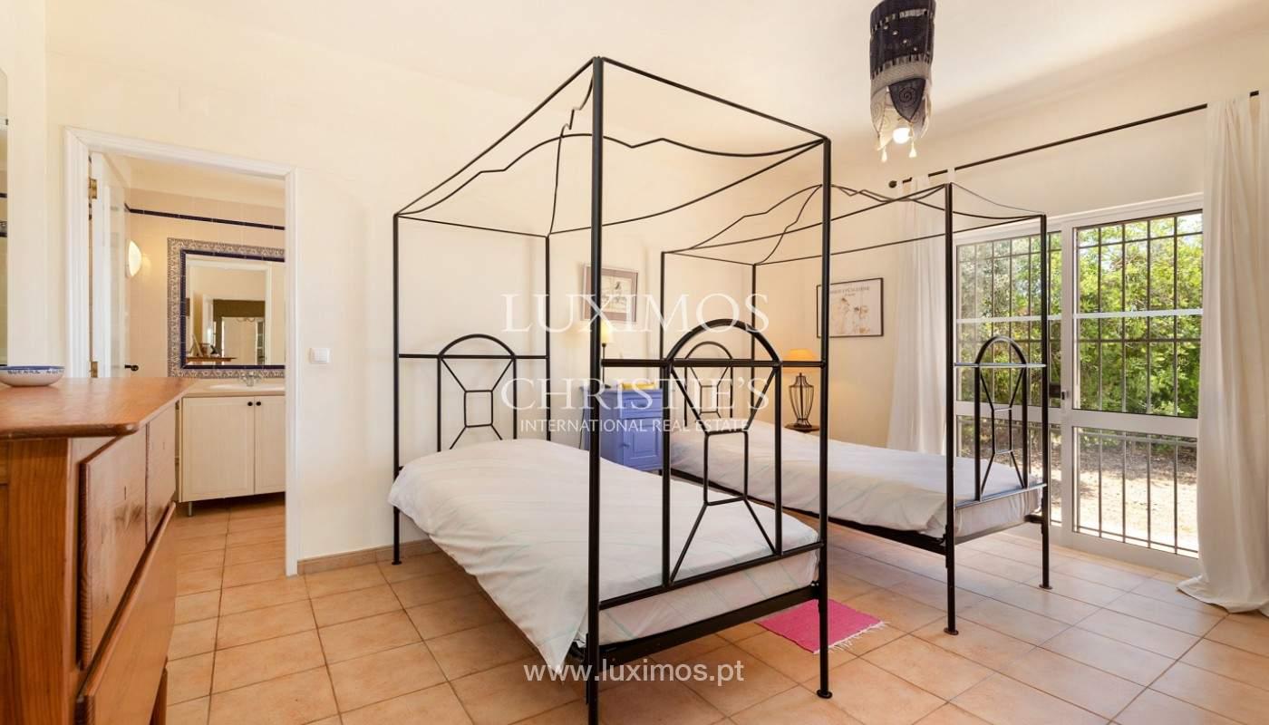 Villa de 4 dormitorios con vistas al mar, Santa Barbara de Nexe, Algarve_173739