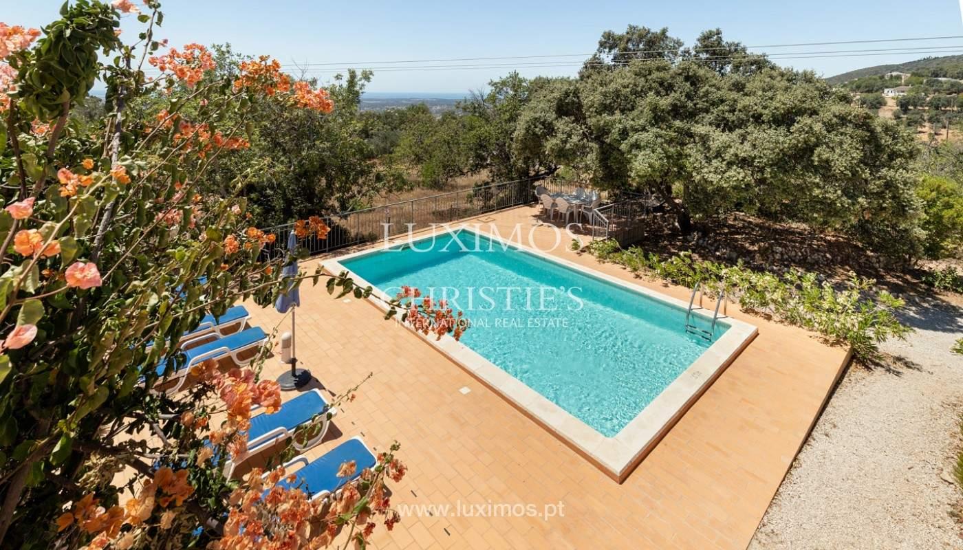 Villa de 4 dormitorios con vistas al mar, Santa Barbara de Nexe, Algarve_173741