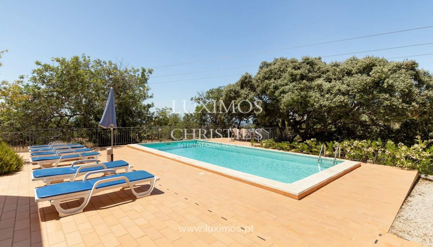 Villa de 4 dormitorios con vistas al mar, Santa Barbara de Nexe, Algarve_173743