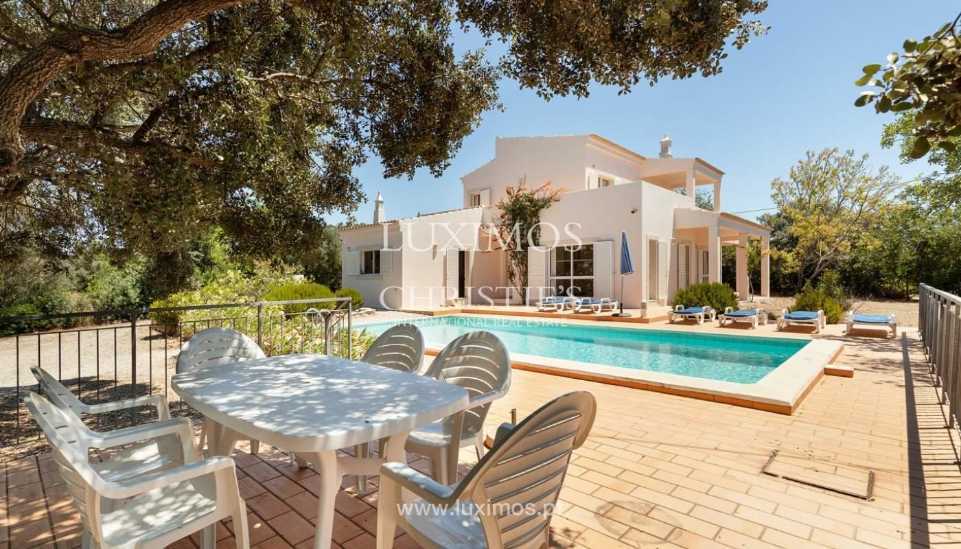 Villa de 4 dormitorios con vistas al mar, Santa Barbara de Nexe, Algarve_173745