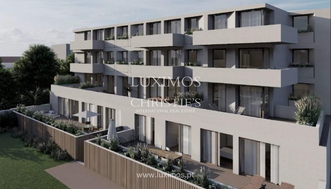 Neue Wohnung mit Terrasse, zu verkaufen, in Entwicklung, Porto, Portugal_174549
