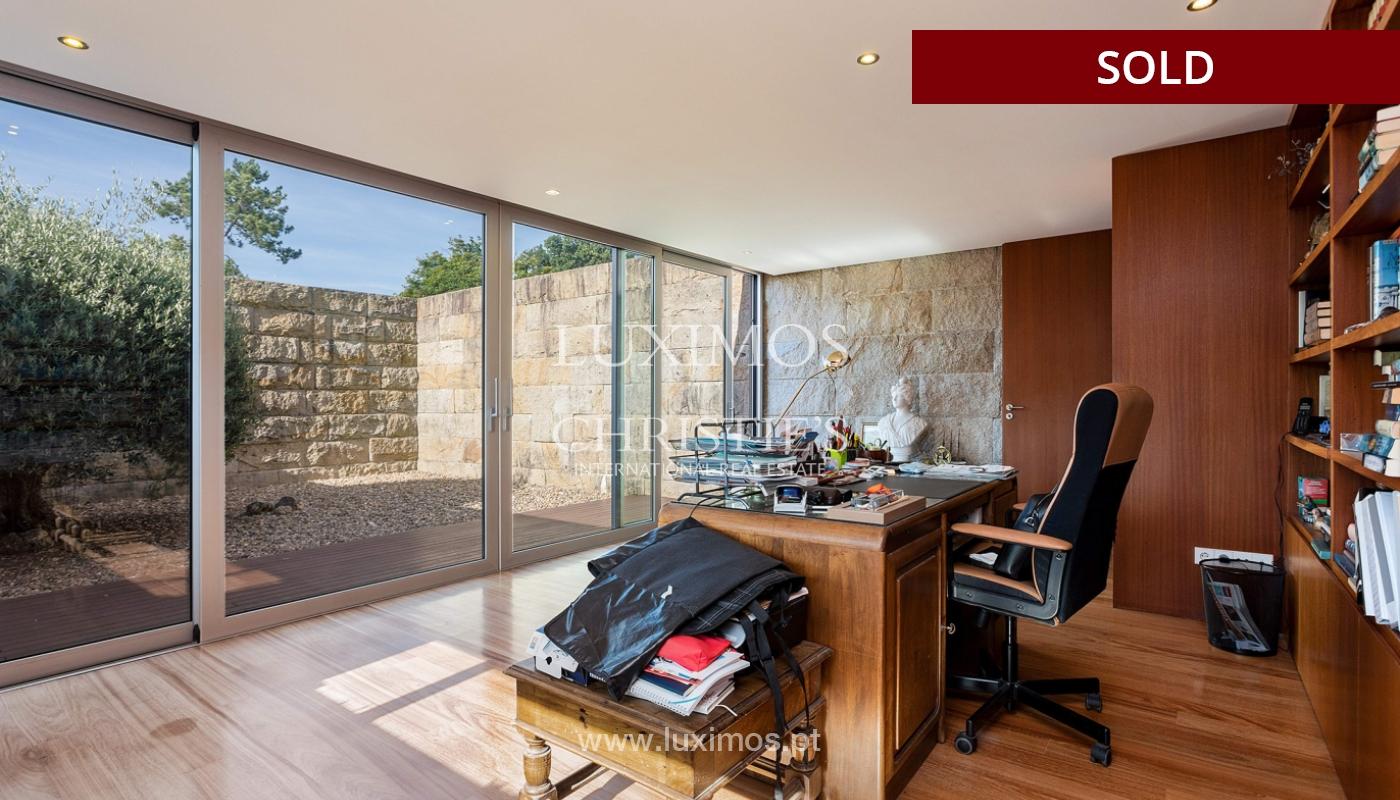 Villa de luxe avec jardin et piscine, à vendre, à Maia, Portugal_174702