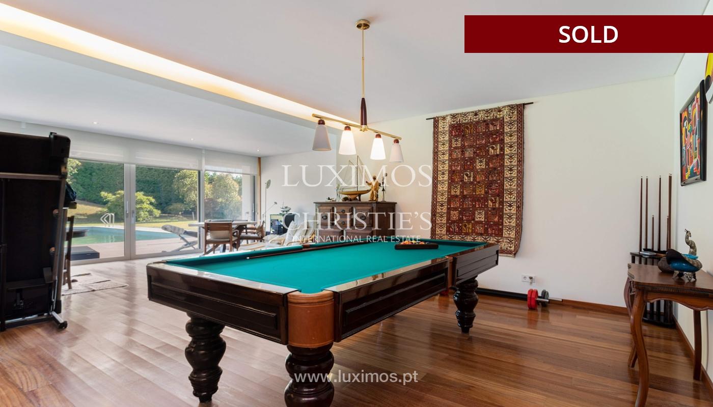 Villa de luxe avec jardin et piscine, à vendre, à Maia, Portugal_174703