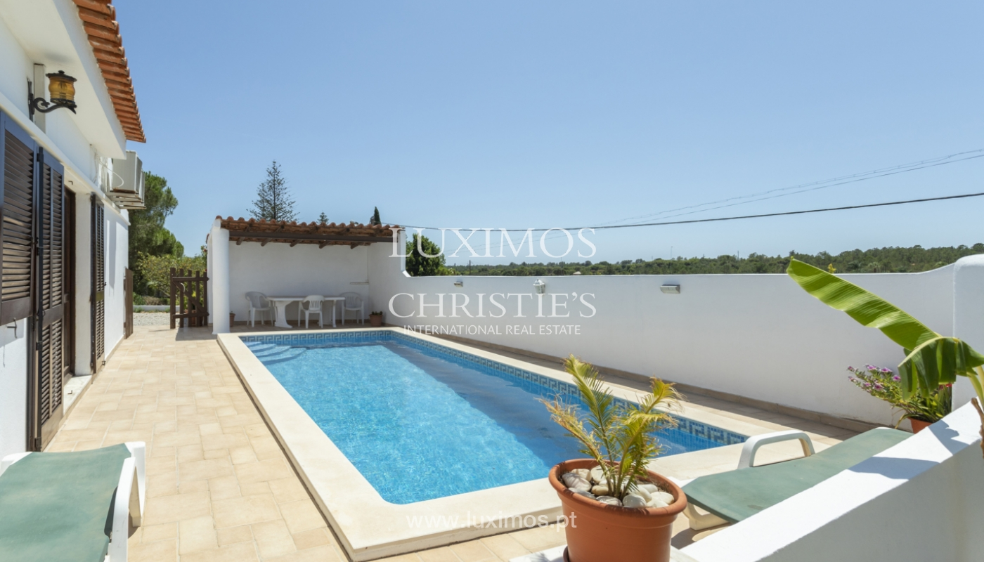 Villa independiente de una sola planta con piscina, Almancil, Algarve_176612