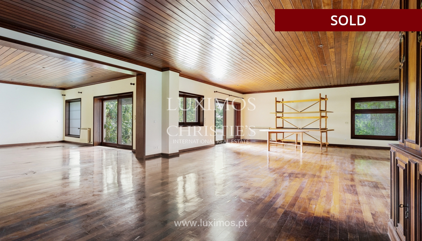 Villa con jardín y piscina, en venta, en Vila Nova de Gaia, Portugal_176942