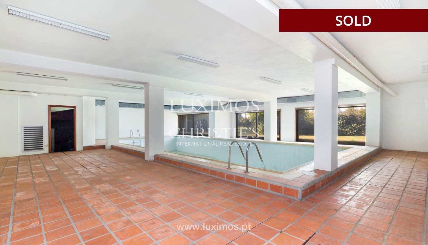 Villa con jardín y piscina, en venta, en Vila Nova de Gaia, Portugal_178033