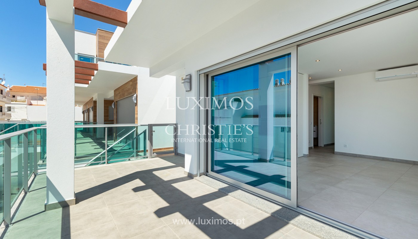 Moderne 2-Schlafzimmer-Wohnung, mit Meerblick, Albufeira, Algarve_178643