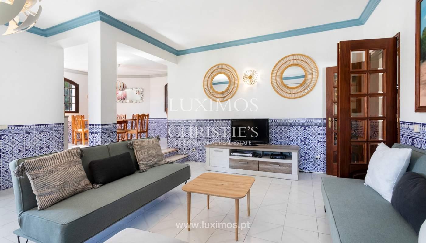 4 bedroom villa with swimming pool, next to the Golf, Vilamoura, Algarve_178650