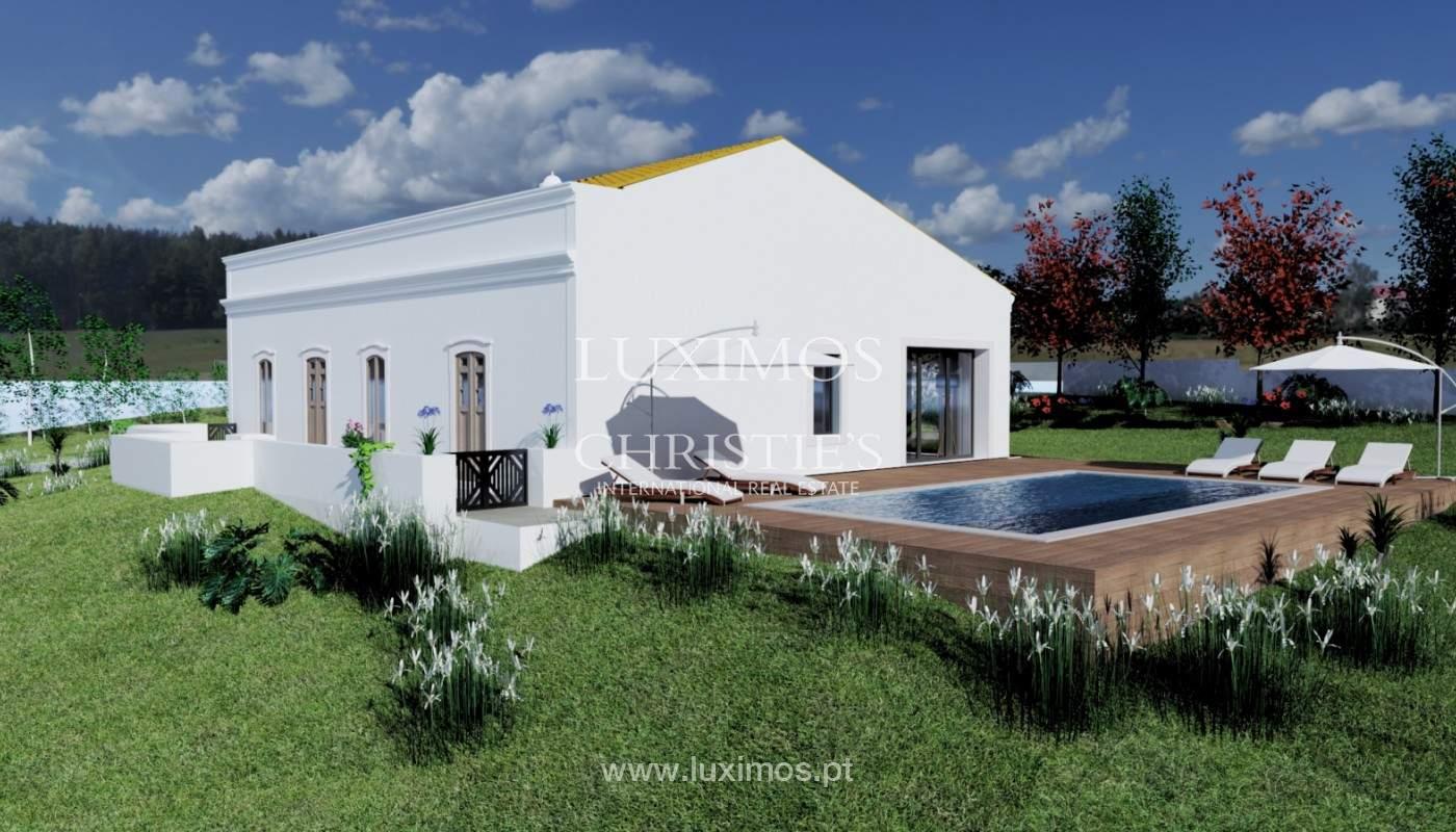 Villa tradicional con vistas al mar y a la montaña, Loulé, Algarve_178817