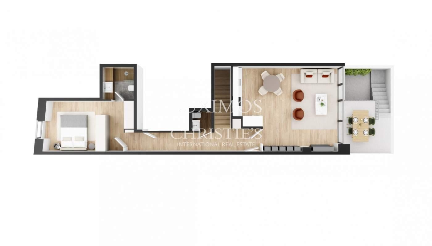 Apartment T2 +1 Duplex with garden, for sale, in Foz do Douro, Porto, Portugal_179508