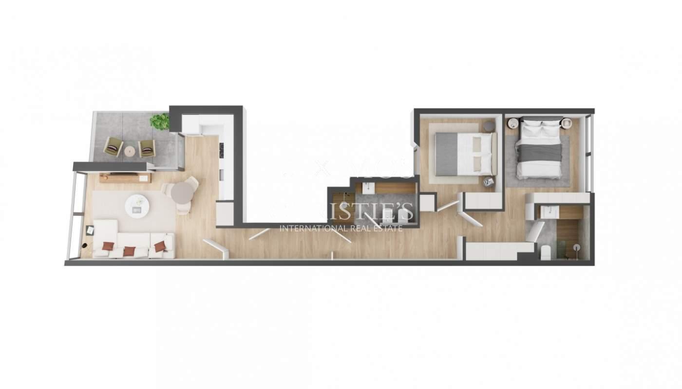Ático de 2 dormitorios con terraza, en venta, en Foz do Douro, Oporto Portugal_179510