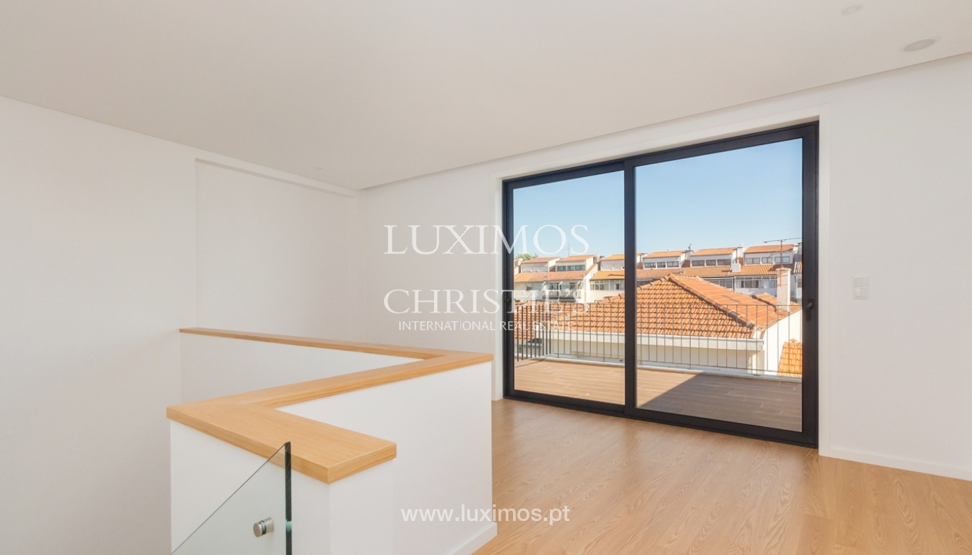 New 4 bedroom house with garden, for sale, in Boavista, Porto, Portugal_179612