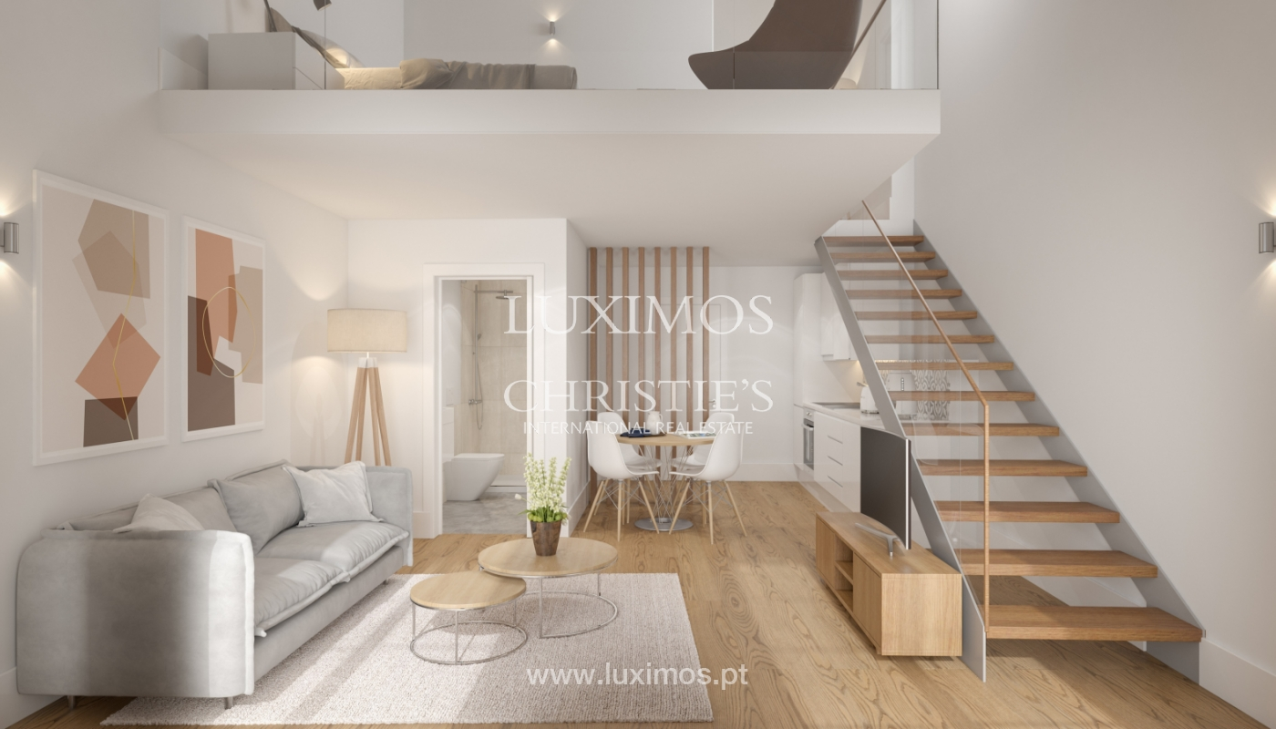 New apartment with mezzanine and balcony, for sale, in V. N. Gaia, Portugal_179885