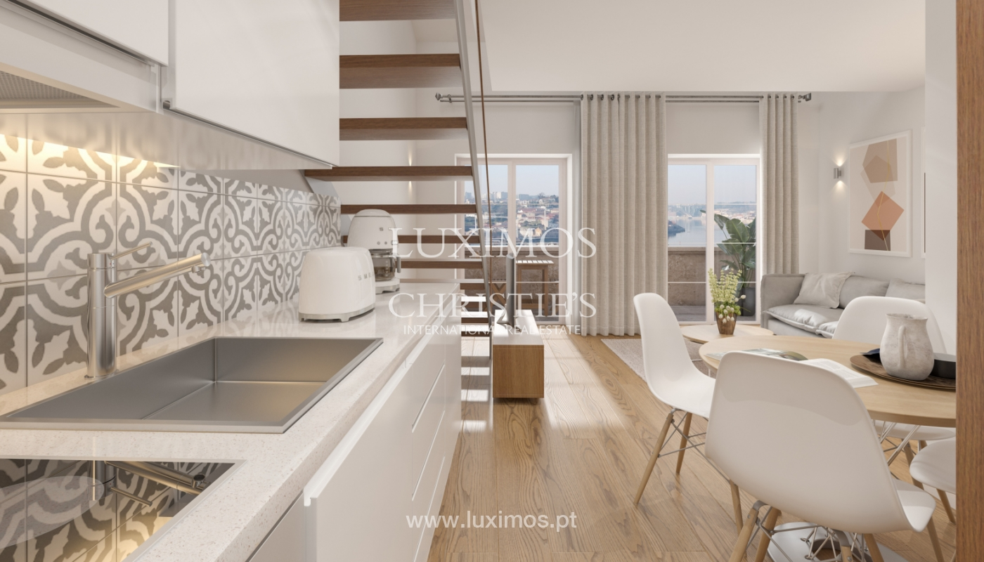 New apartment with mezzanine and balcony, for sale, in V. N. Gaia, Portugal_179888