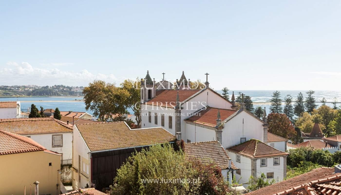 Moradia de 4 frentes, com vistas mar, para venda, na Foz do Douro_180288