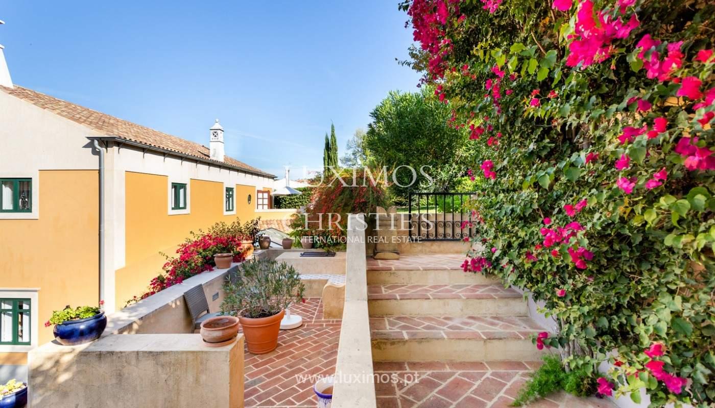 Fantastische Villa mit Garten und Pool und Gebäude für gewerbliche Tätigkeit, Algarve_180327