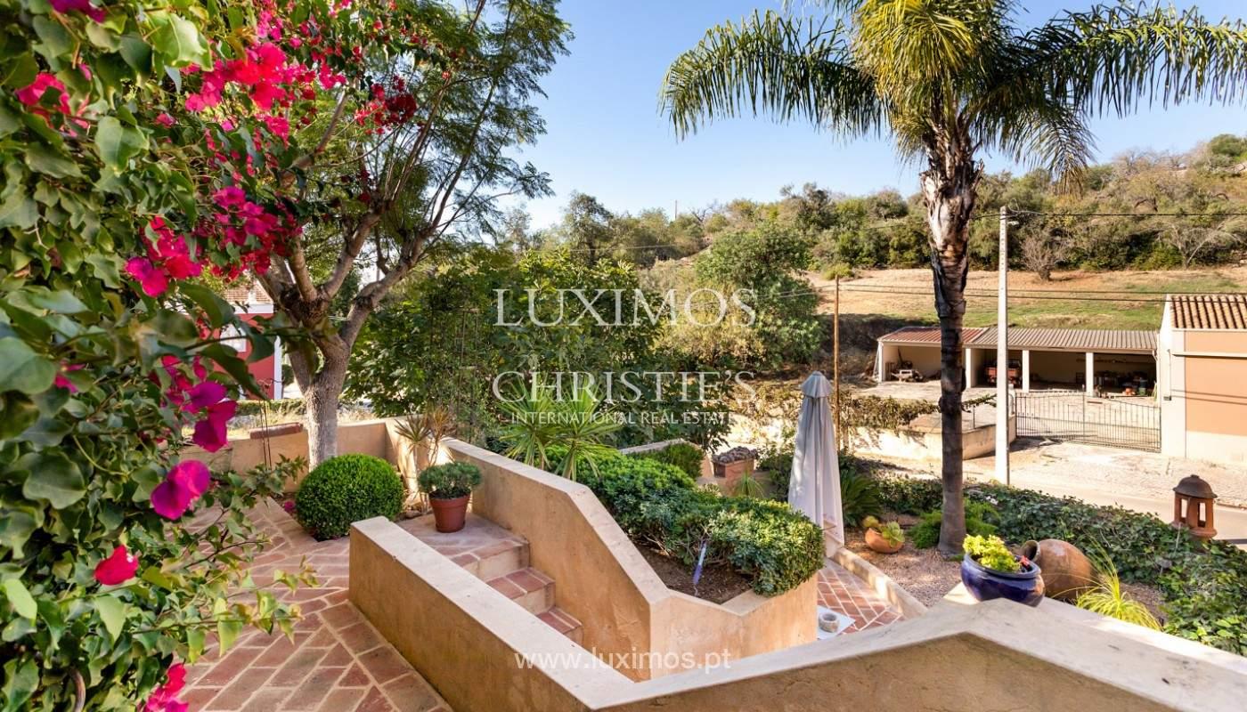Fantastische Villa mit Garten und Pool und Gebäude für gewerbliche Tätigkeit, Algarve_180330