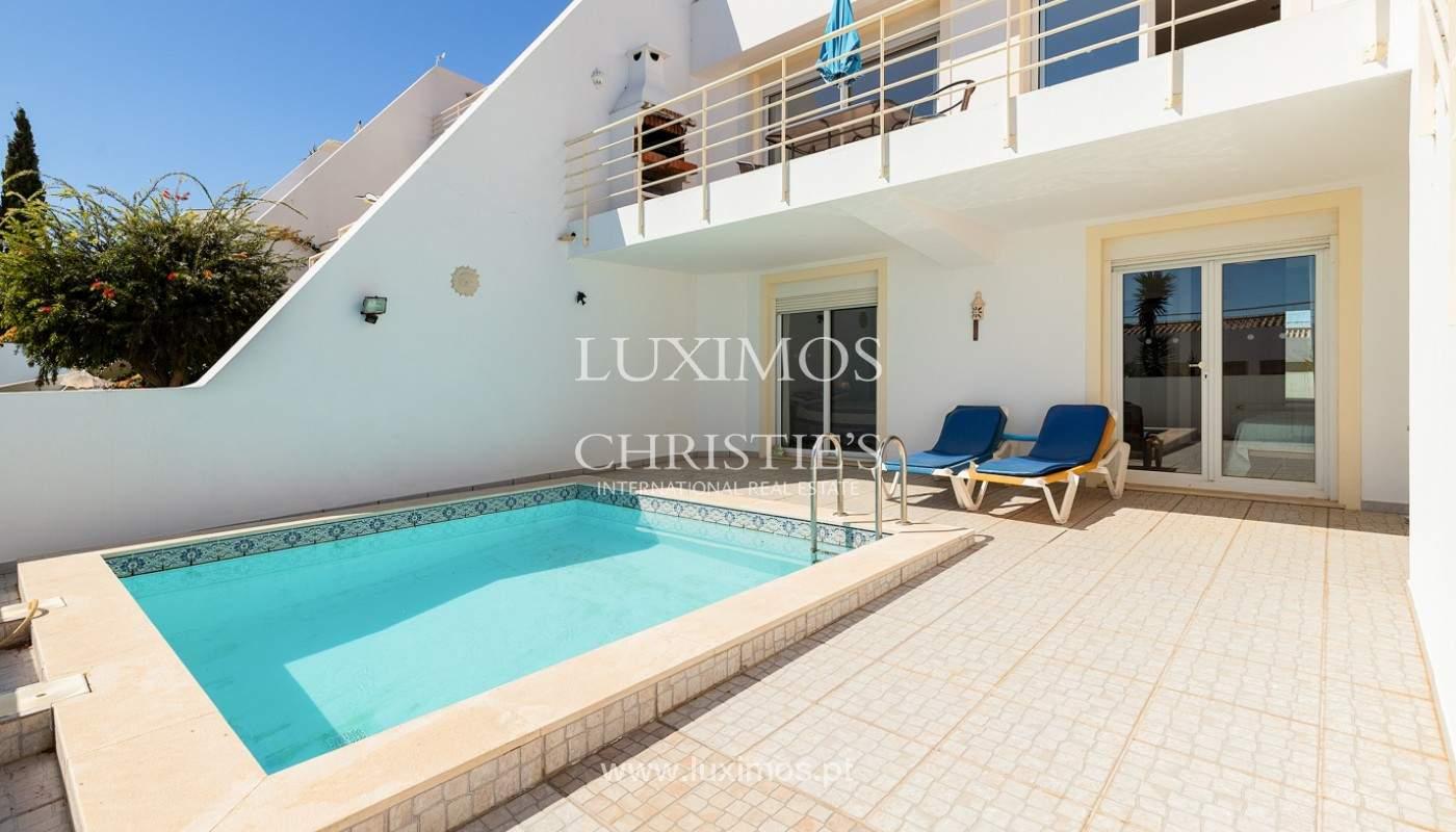 4-Schlafzimmer-Stadthaus mit Meerblick, Praia da Luz, Lagos_180381