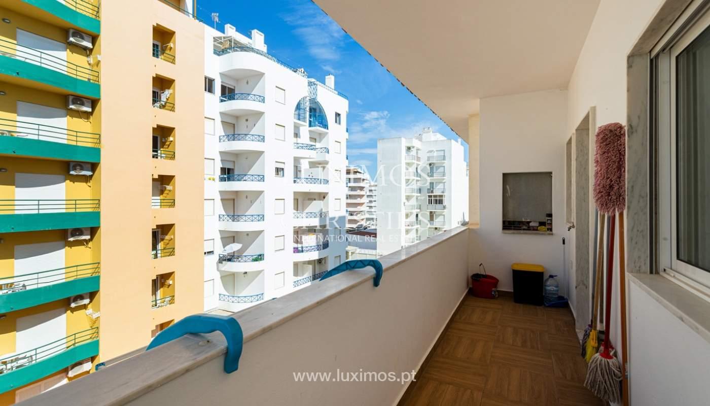 4 bedroom apartment on the 1st line of Armação de Pêra Beach, Algarve_180401