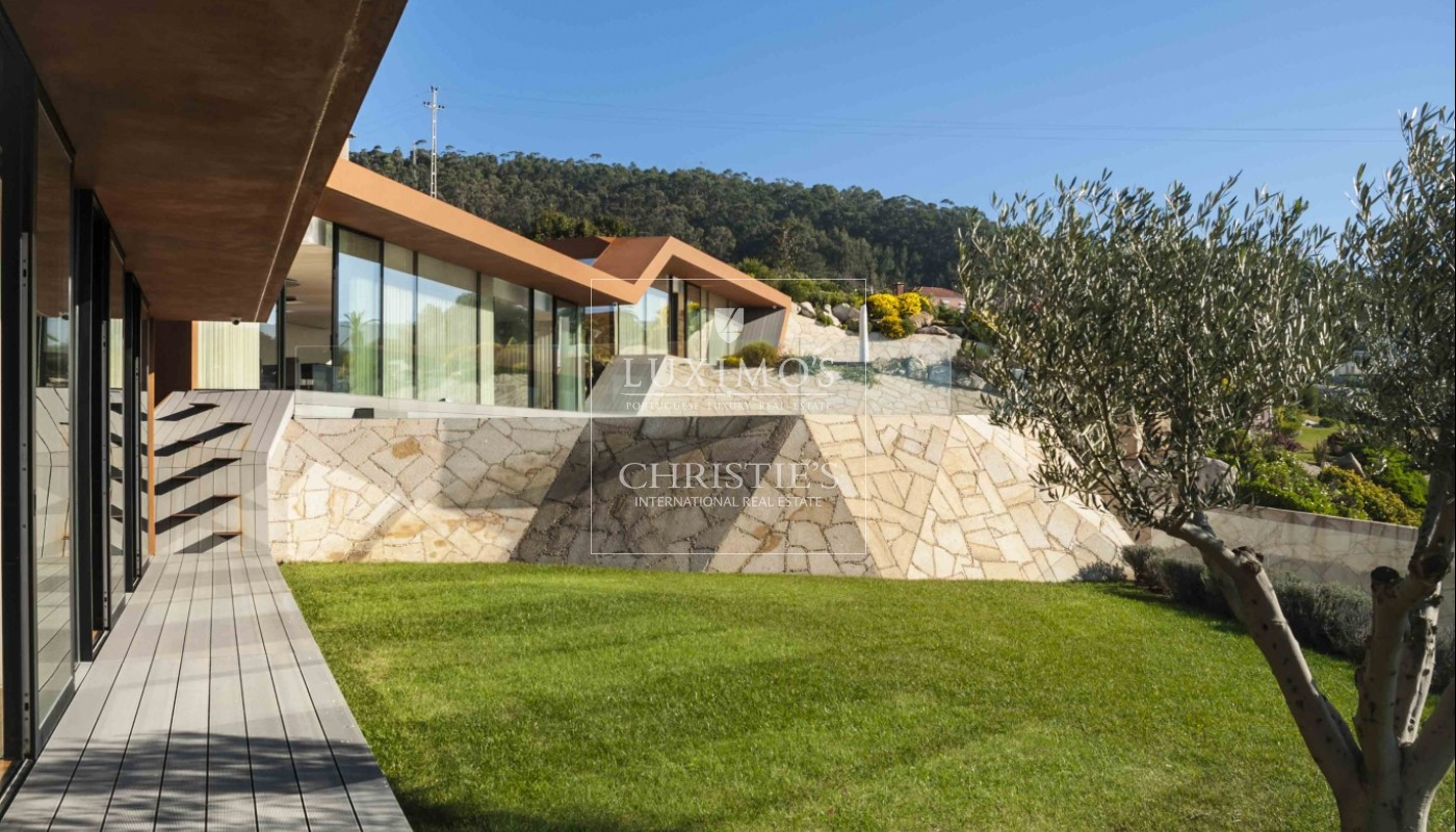 New villa with swimming pool and jacuzzi in Afife, Portugal_1812