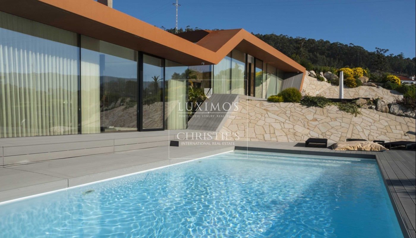New villa with swimming pool and jacuzzi in Afife, Portugal_1841