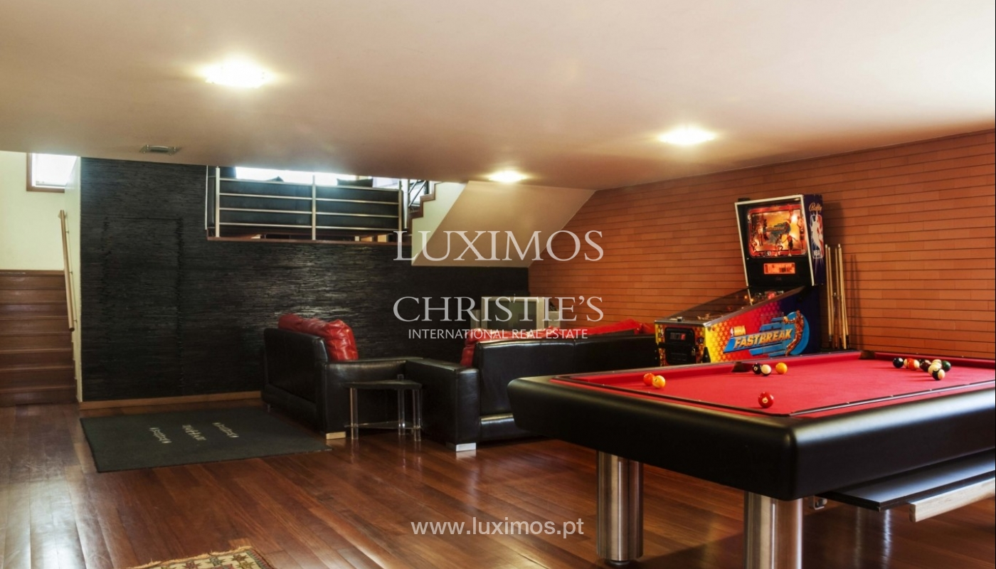 Contemporary house for sale with terrace, close to golf, Porto, Portugal_18438