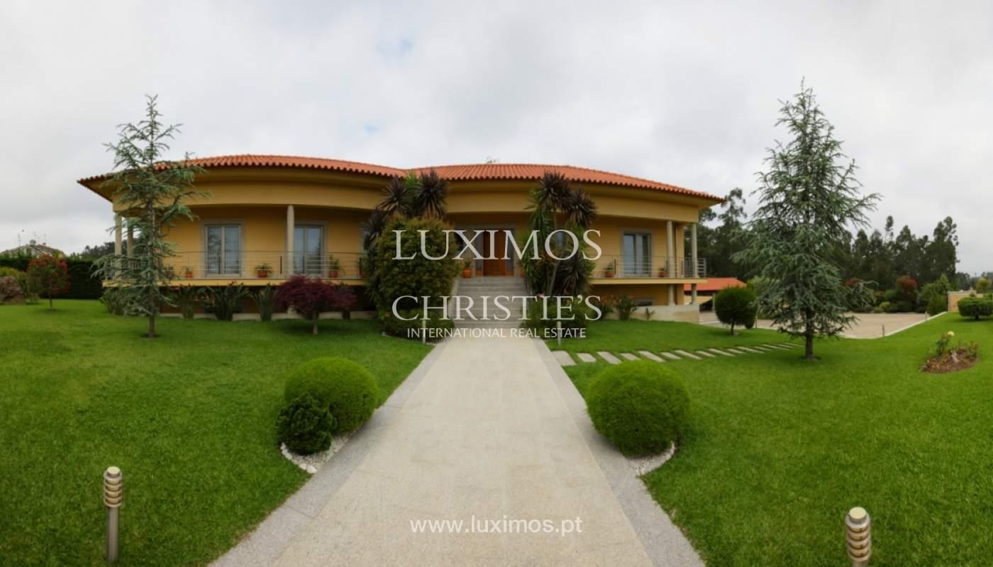Villa con piscina y jardín, en venta, en Póvoa de Varzim, Portugal_22662