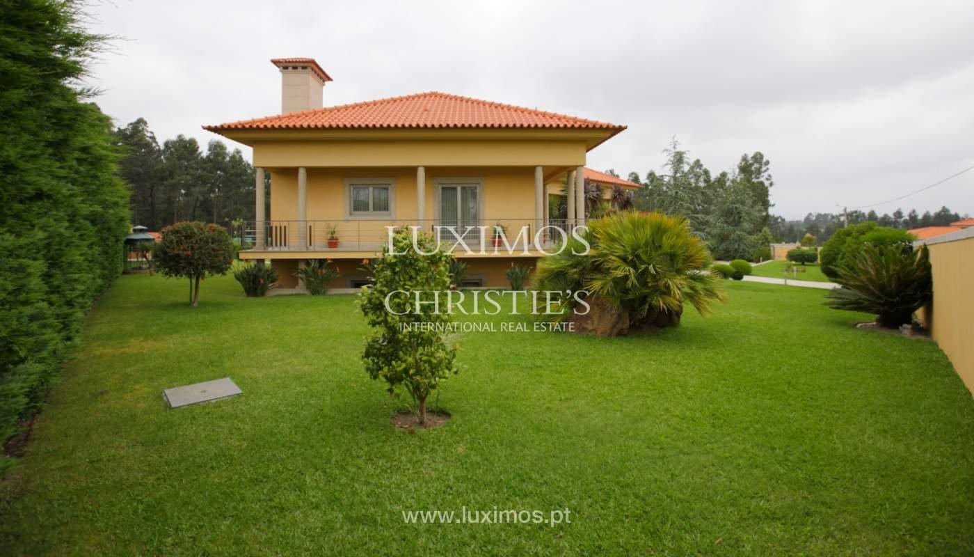 Villa con piscina y jardín, en venta, en Póvoa de Varzim, Portugal_22663