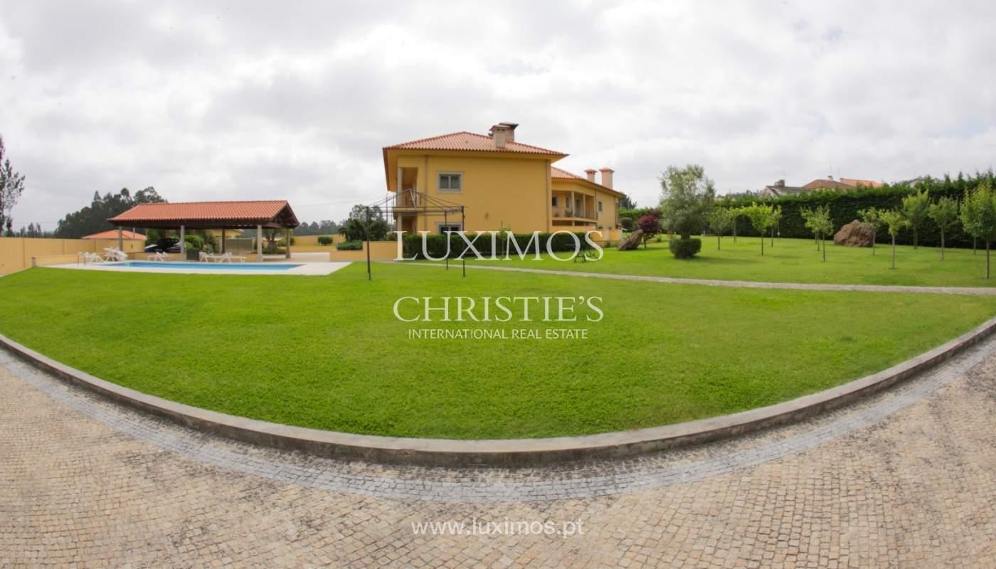 Villa con piscina y jardín, en venta, en Póvoa de Varzim, Portugal_22666