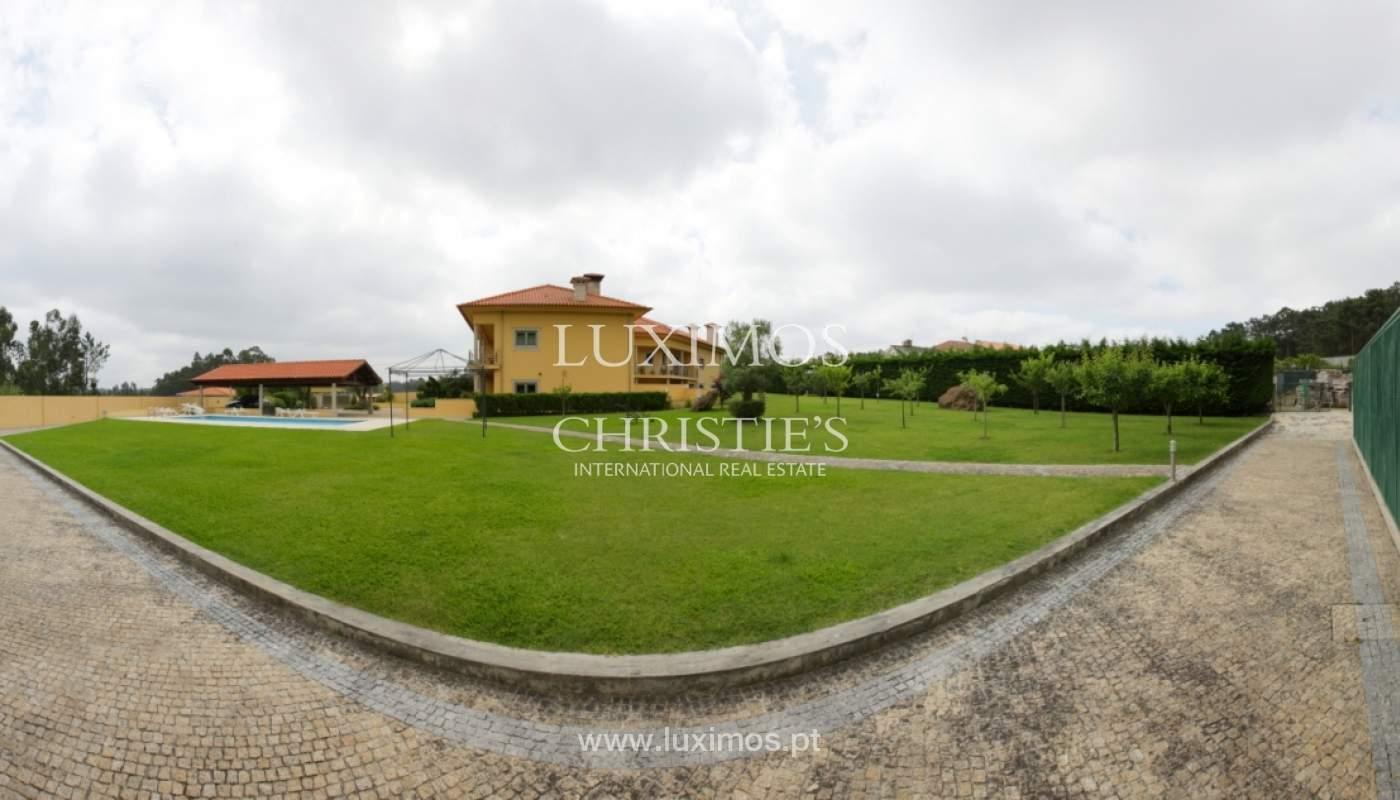 Villa con piscina y jardín, en venta, en Póvoa de Varzim, Portugal_22667