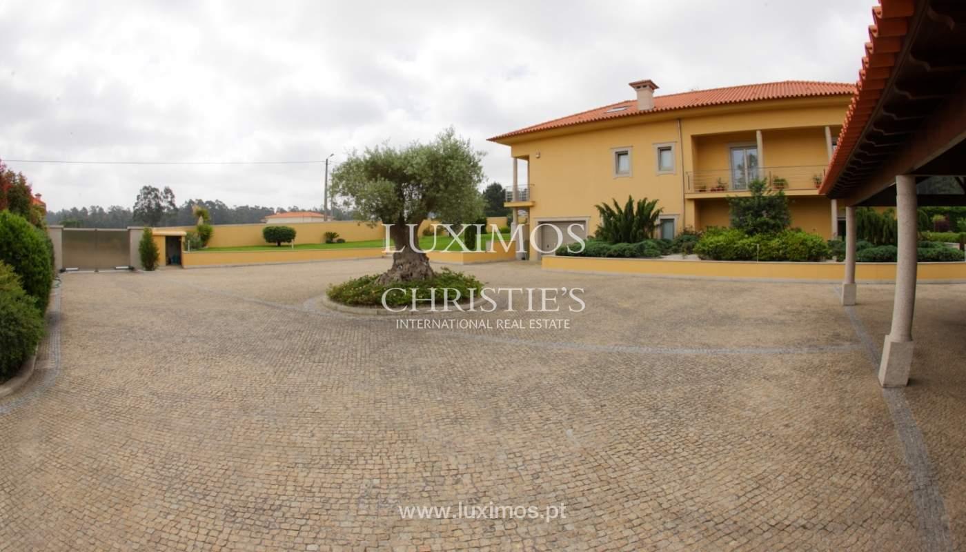 Villa con piscina y jardín, en venta, en Póvoa de Varzim, Portugal_22669