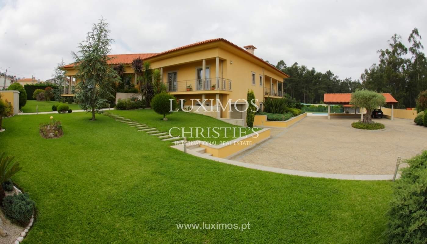 Villa con piscina y jardín, en venta, en Póvoa de Varzim, Portugal_22671