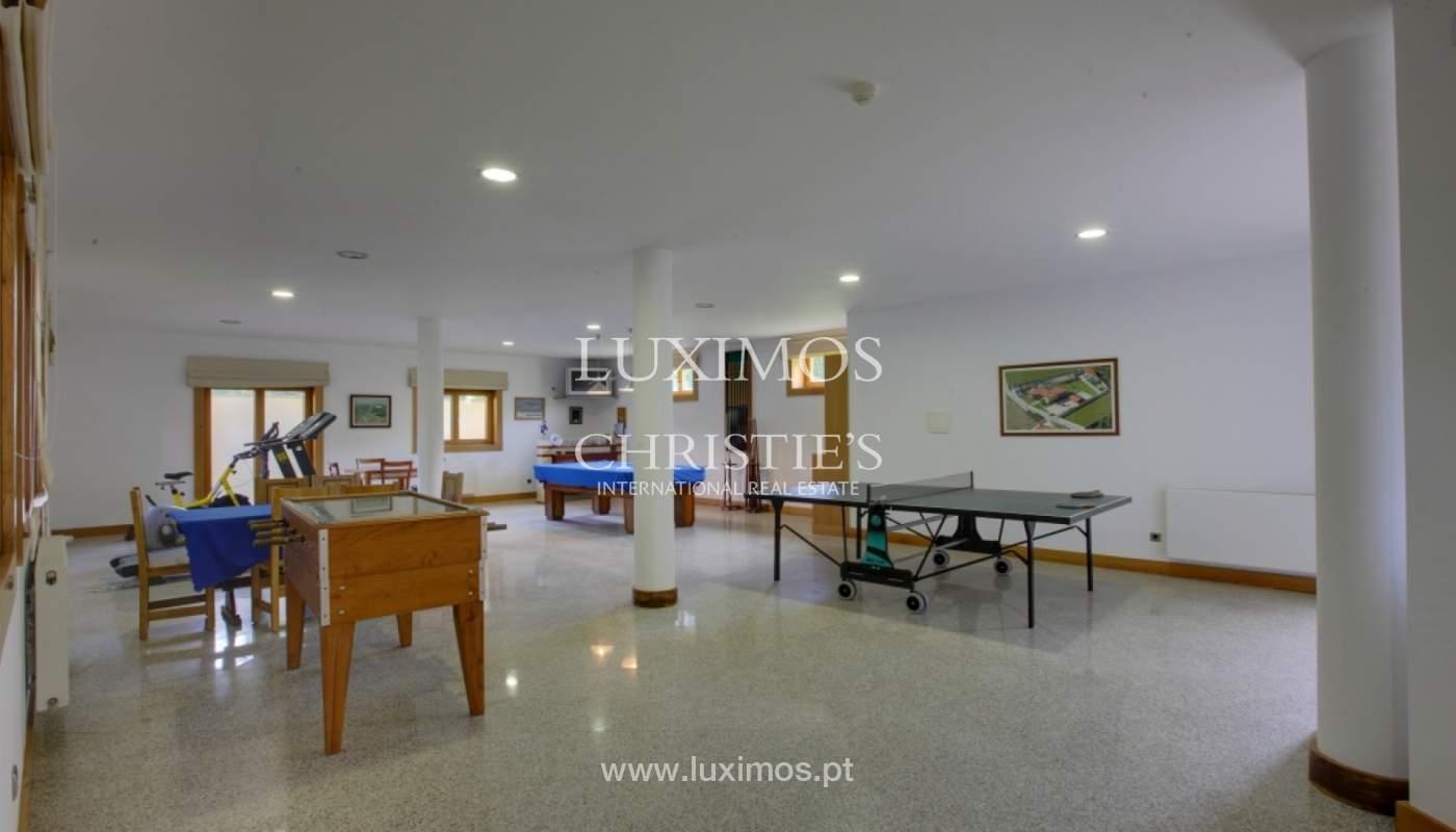 Villa con piscina y jardín, en venta, en Póvoa de Varzim, Portugal_22751