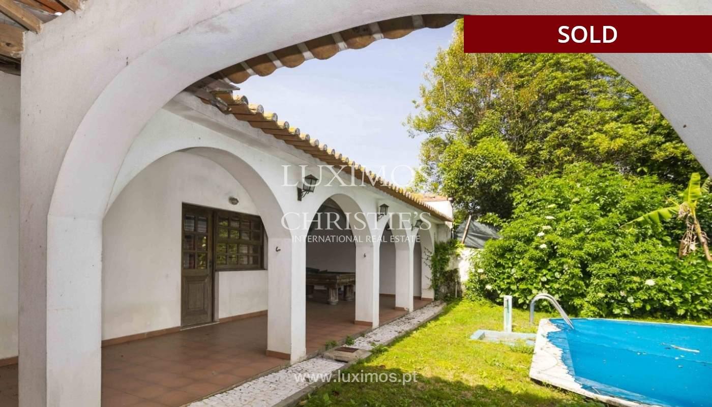 Venda de moradia de 4 frentes, com jardim e piscina, Boavista, Porto_29673