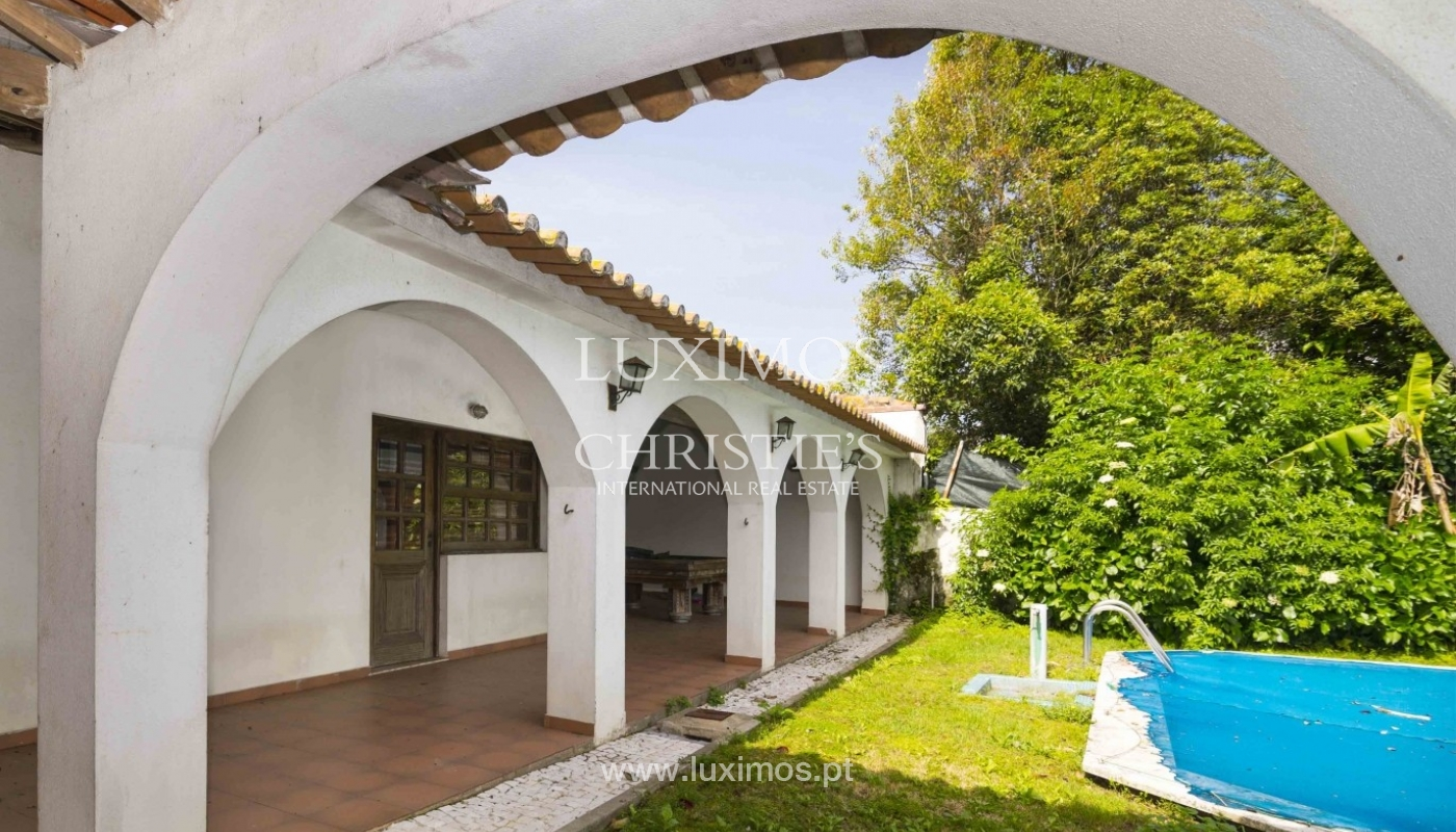 Maison à vendre avec jardin et piscine, Boavista, Porto, Portugal_29673