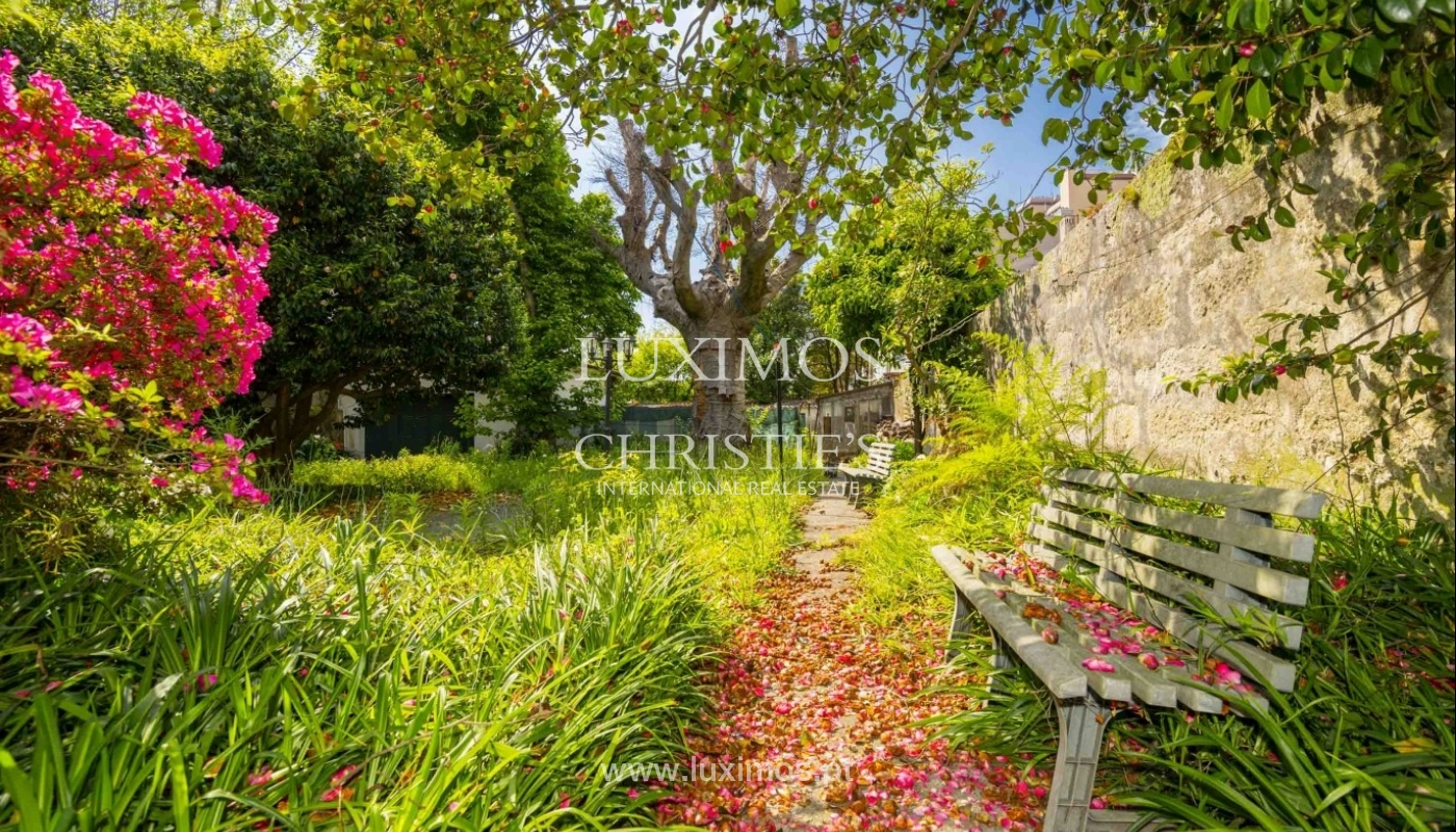 House for sale with british architecture, with garden, Porto, Portugal_30653