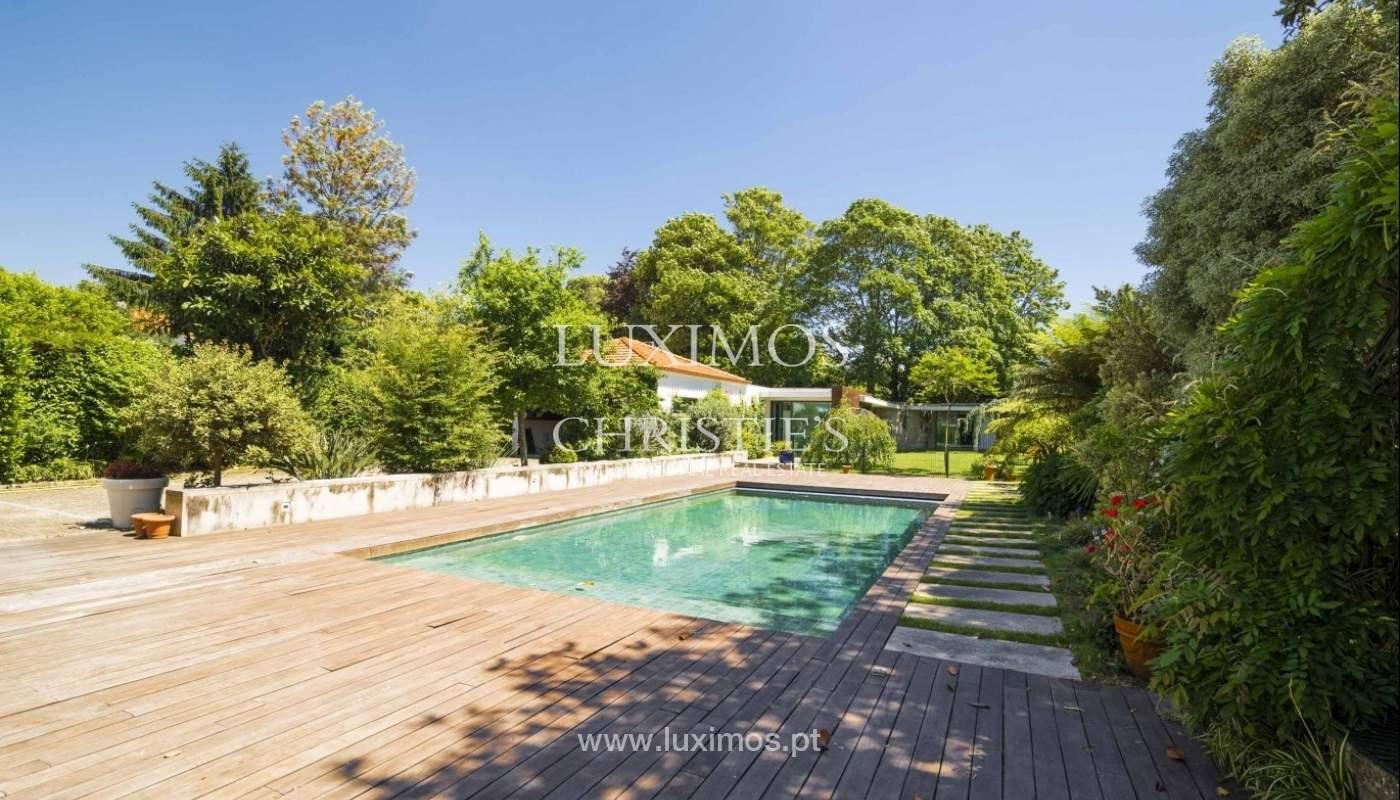 Luxury villa with garden and swimming pool, Porto, Portugal_31222