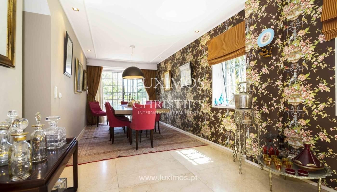 Luxury villa with garden and swimming pool, Porto, Portugal_31251