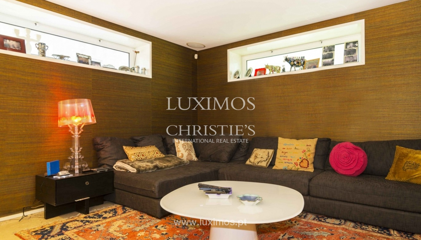 Luxury villa with garden and swimming pool, Porto, Portugal_31261