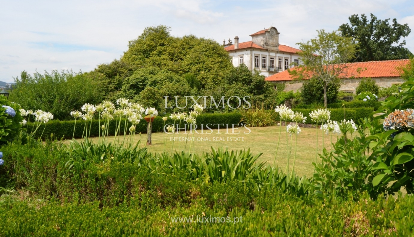 Maison de campagne avec jardin, le lac et la piscine, Penafiel, Portugal_33230