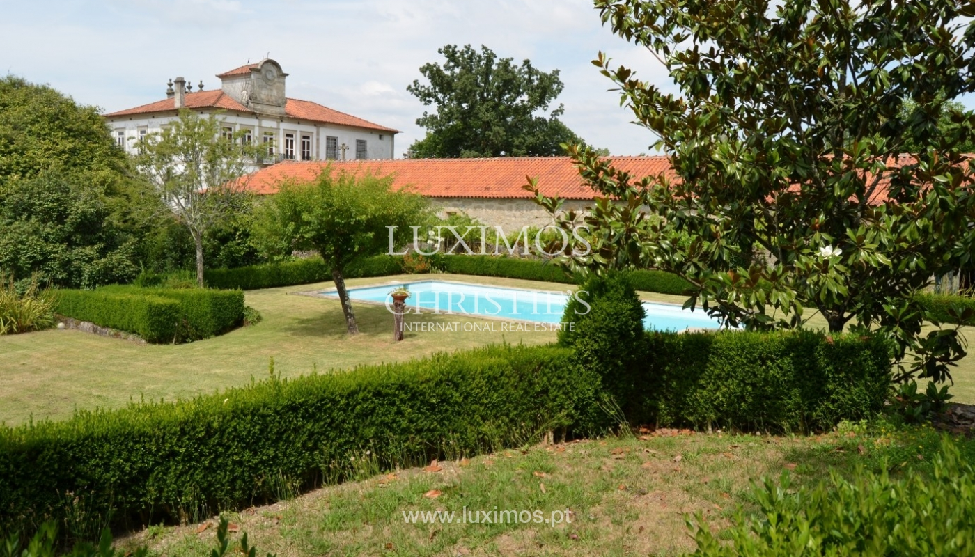 Country house with garden, lake and swimming pool, Penafiel, Portugal_33231